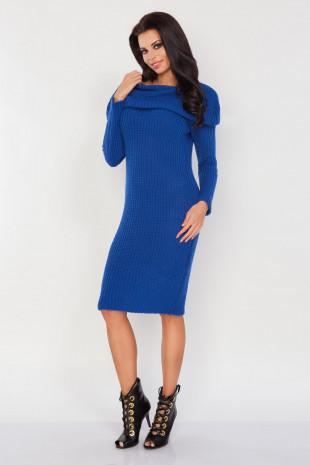 Sukienka z golfem F235