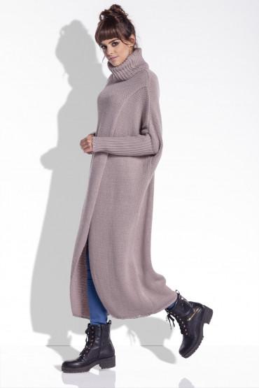 Długi sweter F343