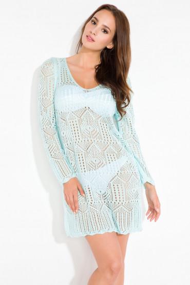 Ażurowa sukienka I122
