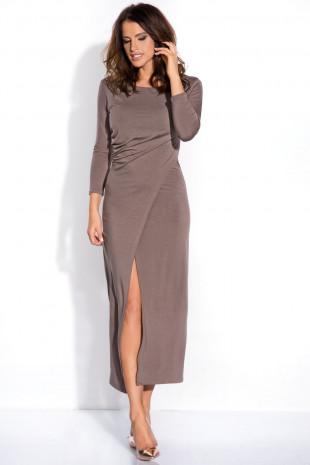 Sukienka z rozcięciem I139