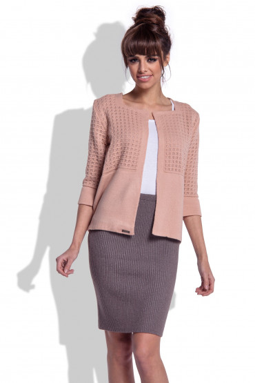 Knitted jacket F305