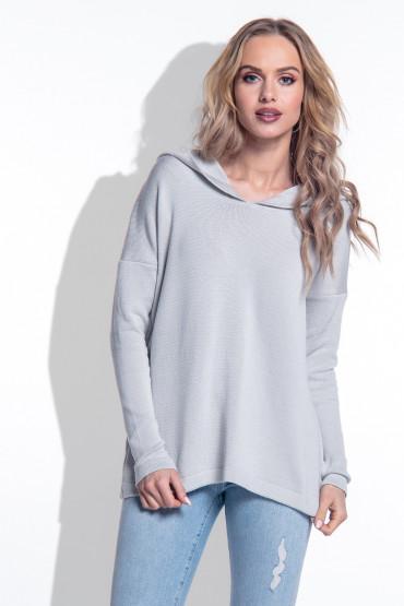 Sweter z kapturem I162