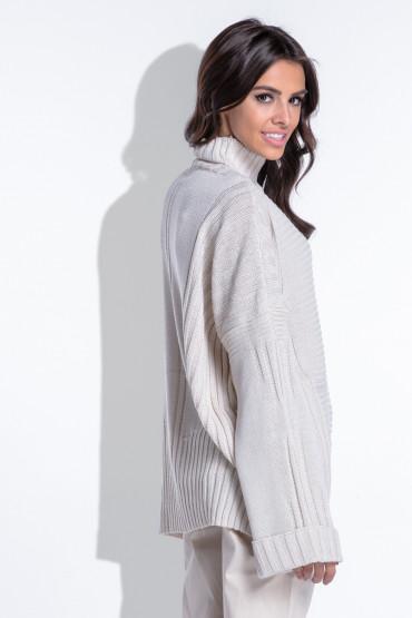 Sweter oversize F423