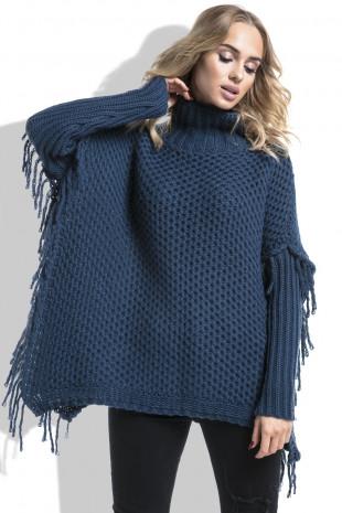 Sweter z frędzlami I222