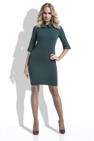 Sukienka z kołnierzykiem I228