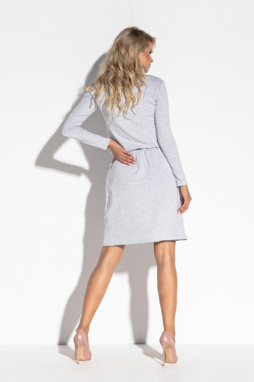 Sukienka z paskiem F563