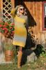 Welniana sukienka F579