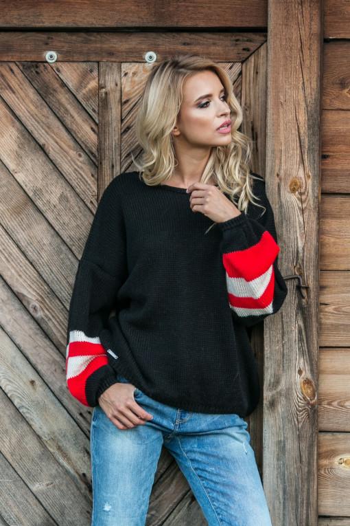 Sweter oversize F578