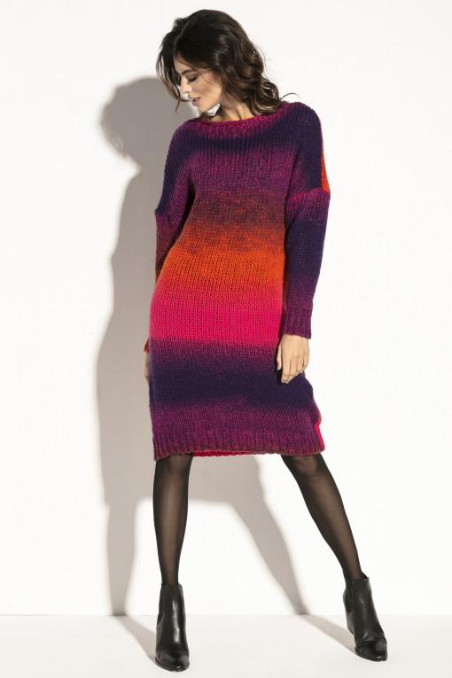 Woolen dress F579