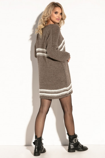 Woolen dress  F586