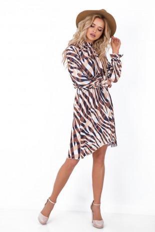 Sukienka z wzorem F675