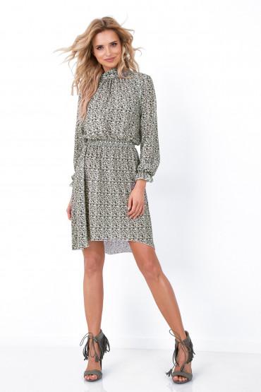 Sukienka z wzorem F677