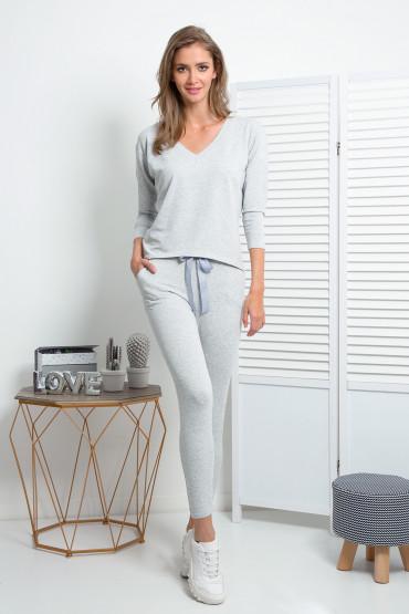 Komplet spodnie i bluzka K343