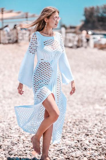 Sukienka ażurowa F732