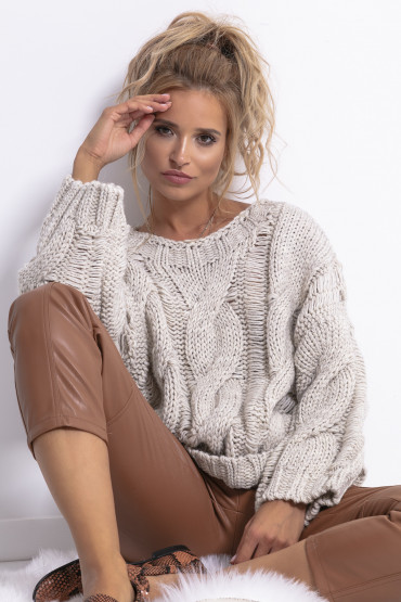 Sweter CHUNKY KNIT F776