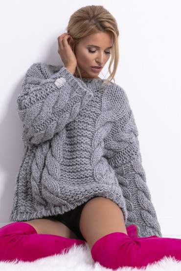 Sweter CHUNKY KNIT F780