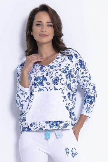 Bluza z wzorem F878