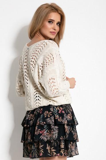 Sweterek ażurowy F892