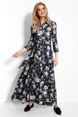 Maxi sukienka F895