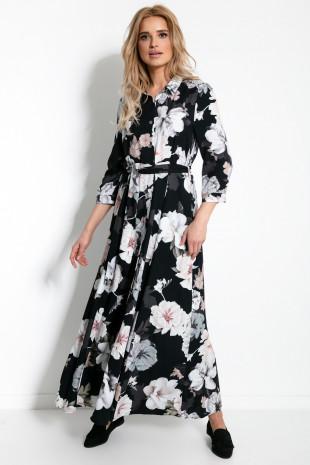Maxi sukienka F896