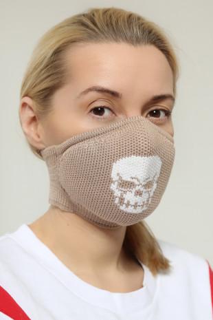 Maska ochronna Beige Cranium