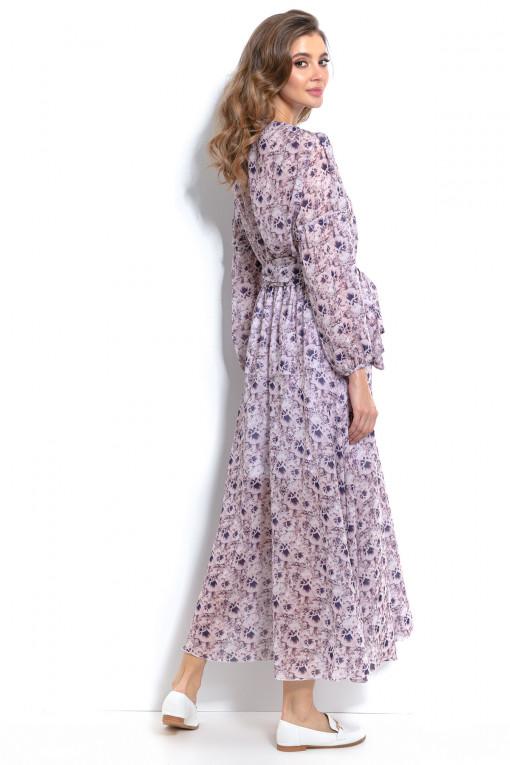 Długa sukienka F989