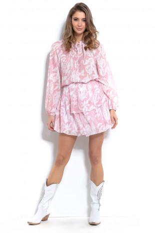 Komplet bluzka i spódnica F1001