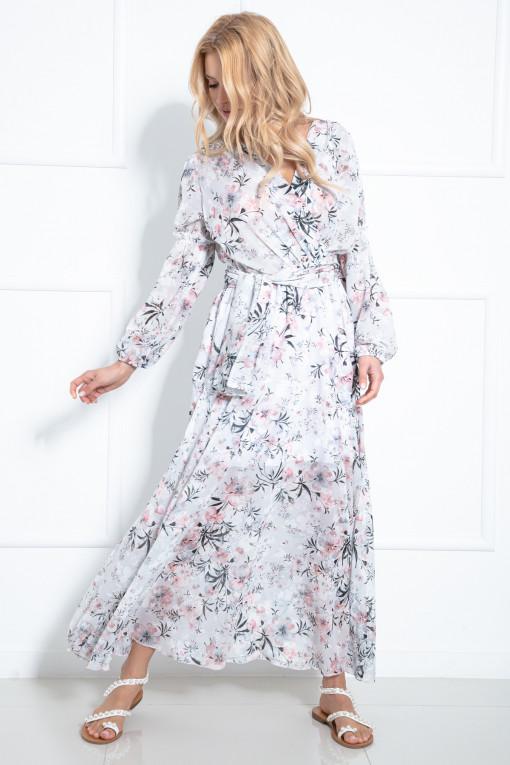 Długa sukienka F976