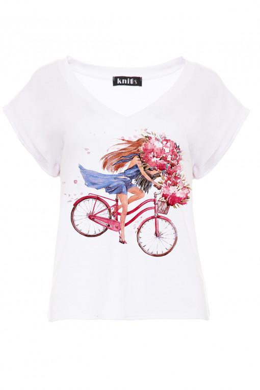 Bluzka Lovely Biker K448