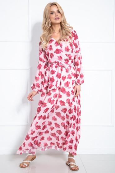 Długa sukienka F977
