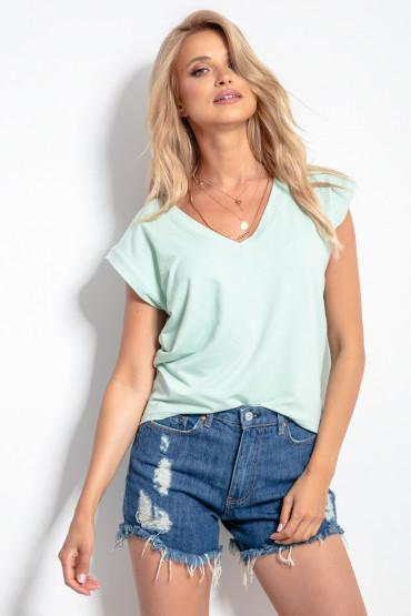 Koszulka basic vneck K103