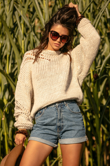 Sweter Chunky Knit F1054