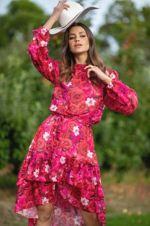 Sukienka Rose F990