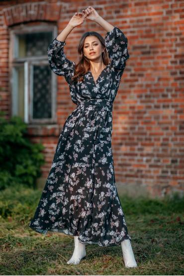 Długa sukienka F997