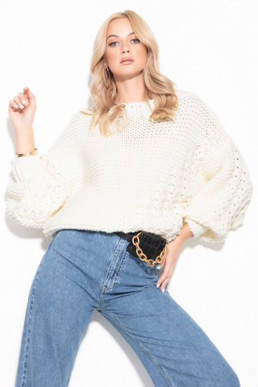 Sweter Chunky Knit F1125