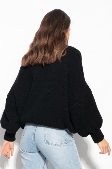 Sweter kaszmirowy z wełną F1011