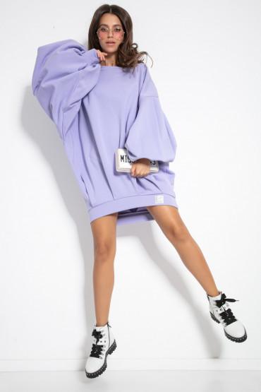 Dzianinowa sukienka F1126