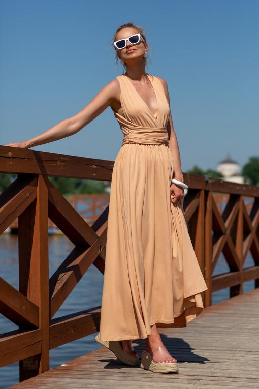Sukienka maxi F1252