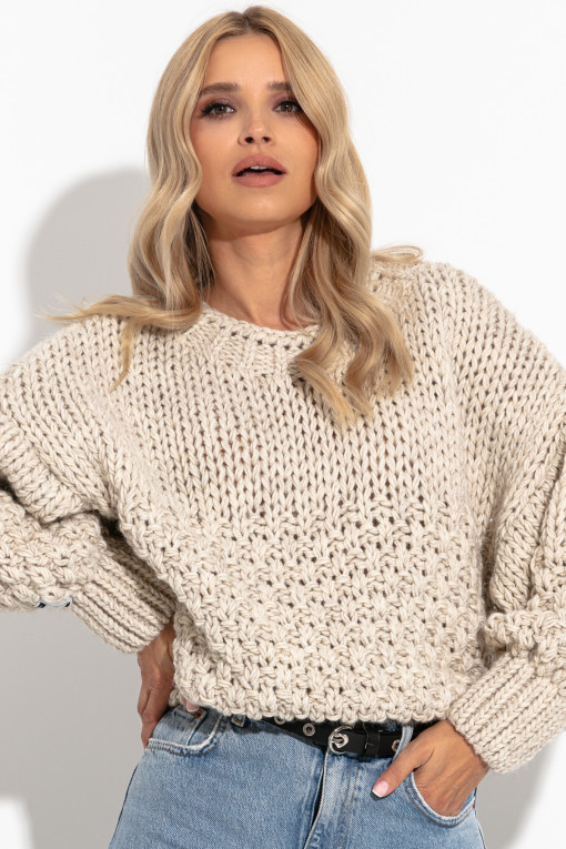 Sweter Chunky Knit F1264