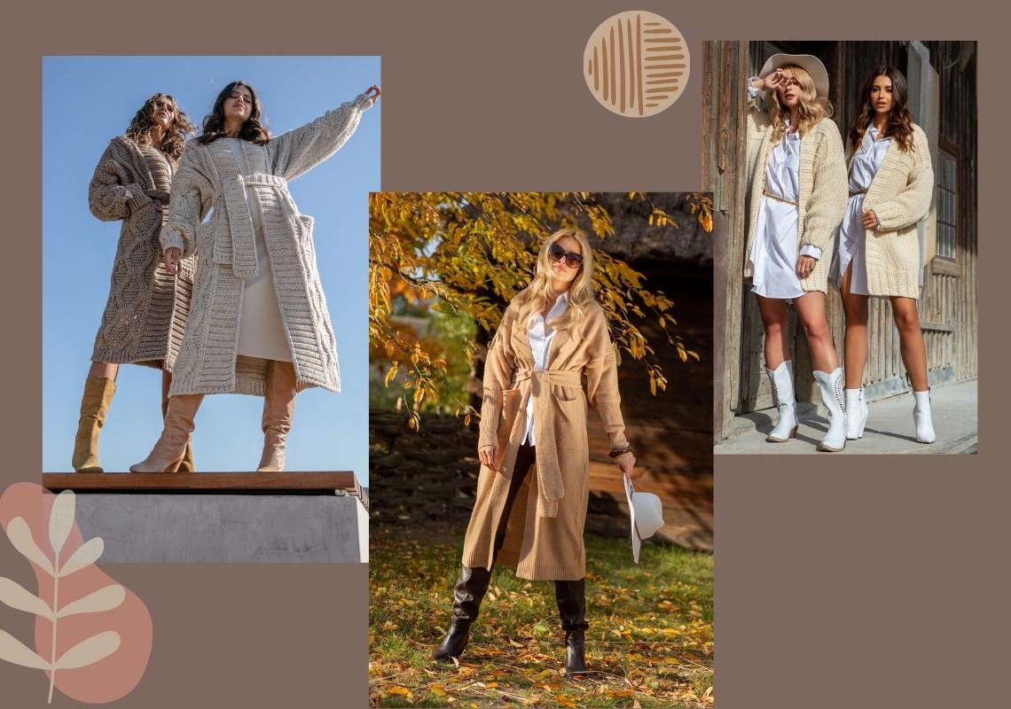 Kardigany, nieodzowny element kobiecej garderoby